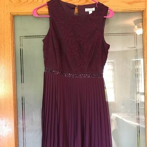 Merlot Homecoming/Confirmation Dress